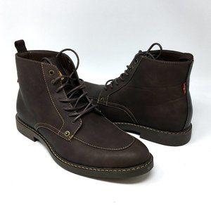 Levi's Men's Norfolk UL Brown Casual Boots Sz 9.5